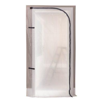 Staubschutz-Tür mit Reissverschluss bei werkzeug-kauf.de