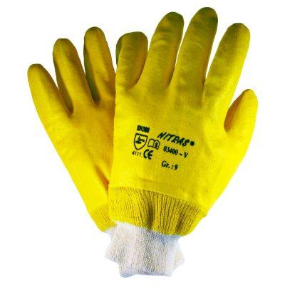 Handschuhe aus Nitril Nitrilhandschuhe voll beschichtet