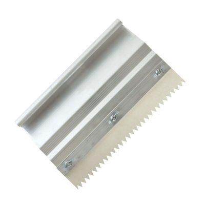 Schraubleisten-Handrakel zur Aufnahme gezahnter Gummi und Zahnleisten bis 260 mm