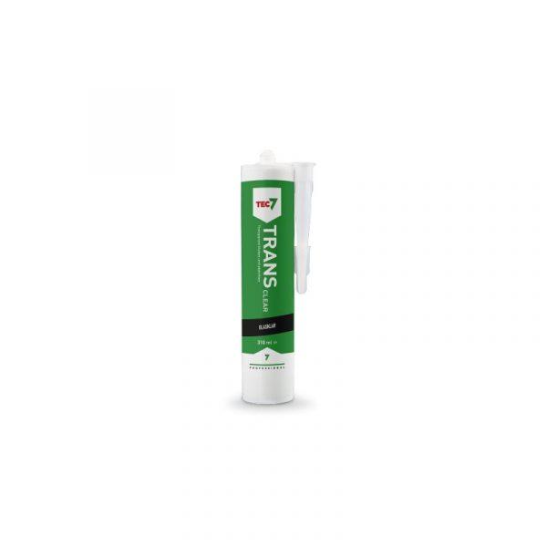 Trans als transparenter Universaldichtstoff mit starker Haftung und dauerelstisch Kartusche 310 ml