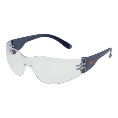 Schutzbrille 3M klar zum Schutz der Augen bei Arbeiten, kratzfest, stossfest