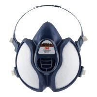 Atemschutzmaske Komfort mit Schutzklasse A1/P2 gegen Feinstaub und organische Gase und Dämpfe