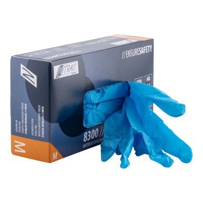 Handschuhe Einweg ungepudert Nitril in praktischer Box zu je 100 Stück